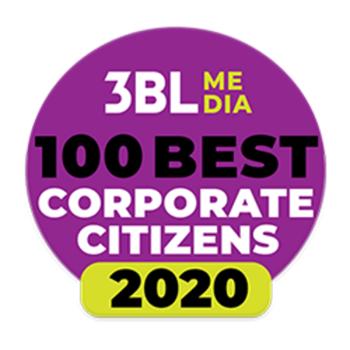 3BL Media 100 Best Corporate Citizens 2020