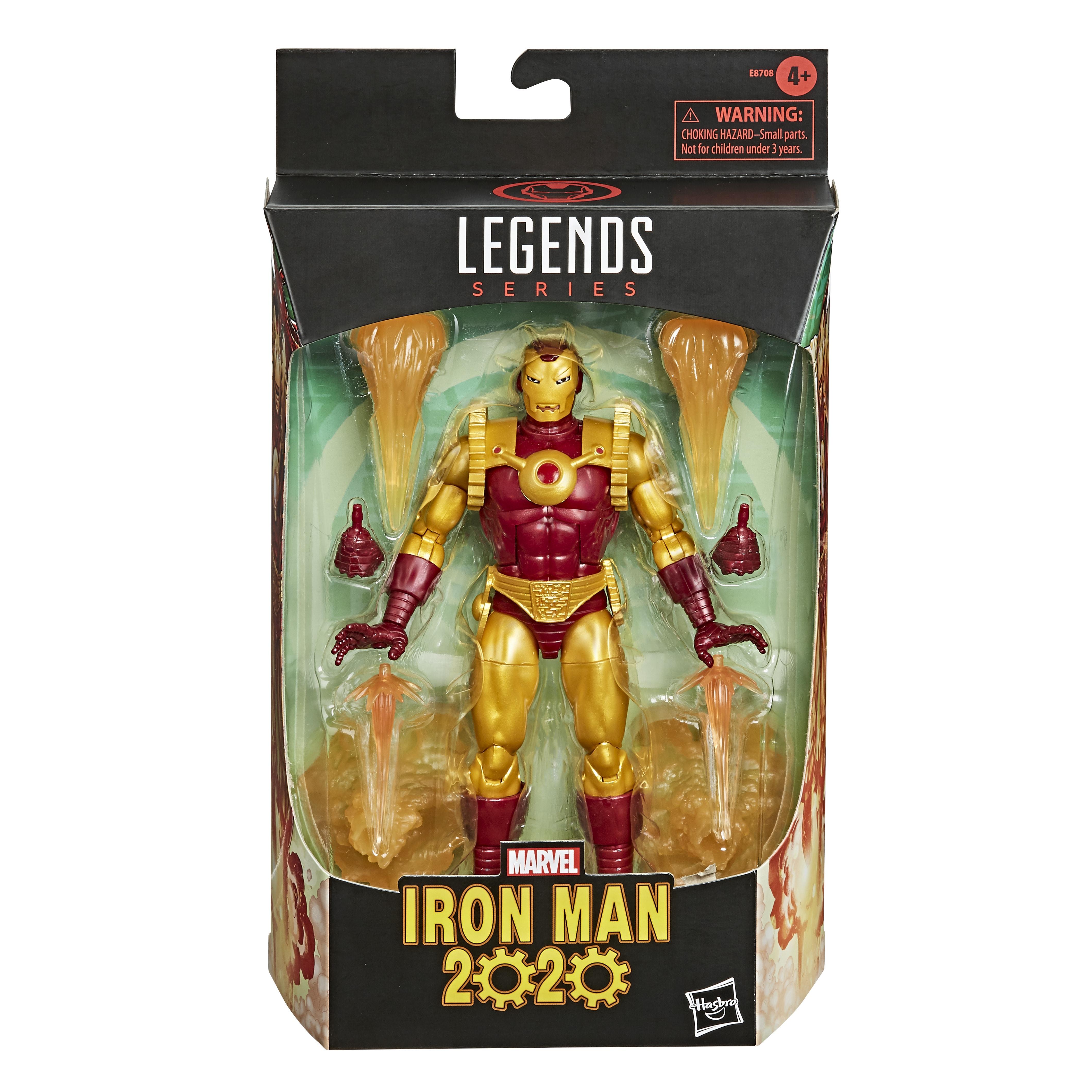 E87085L00 Marvel Legends Iron Man 2020 pkg