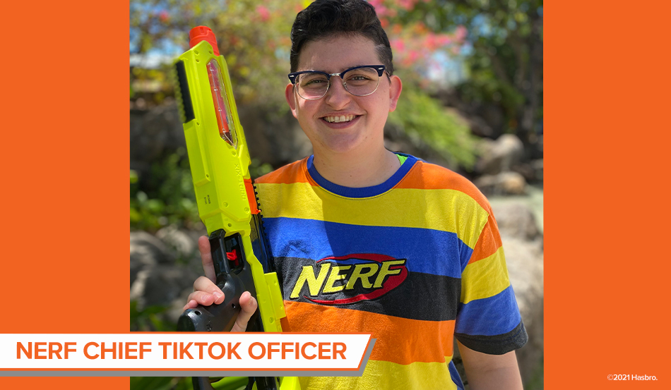 NERF Brand Selects Chief TikTok Officer