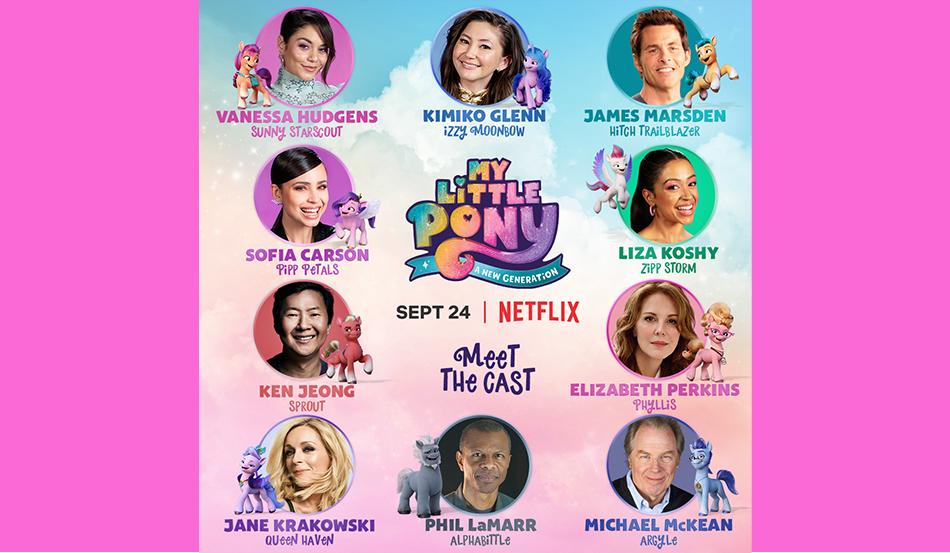 My Little Pony: A New Generation Cast Revealed