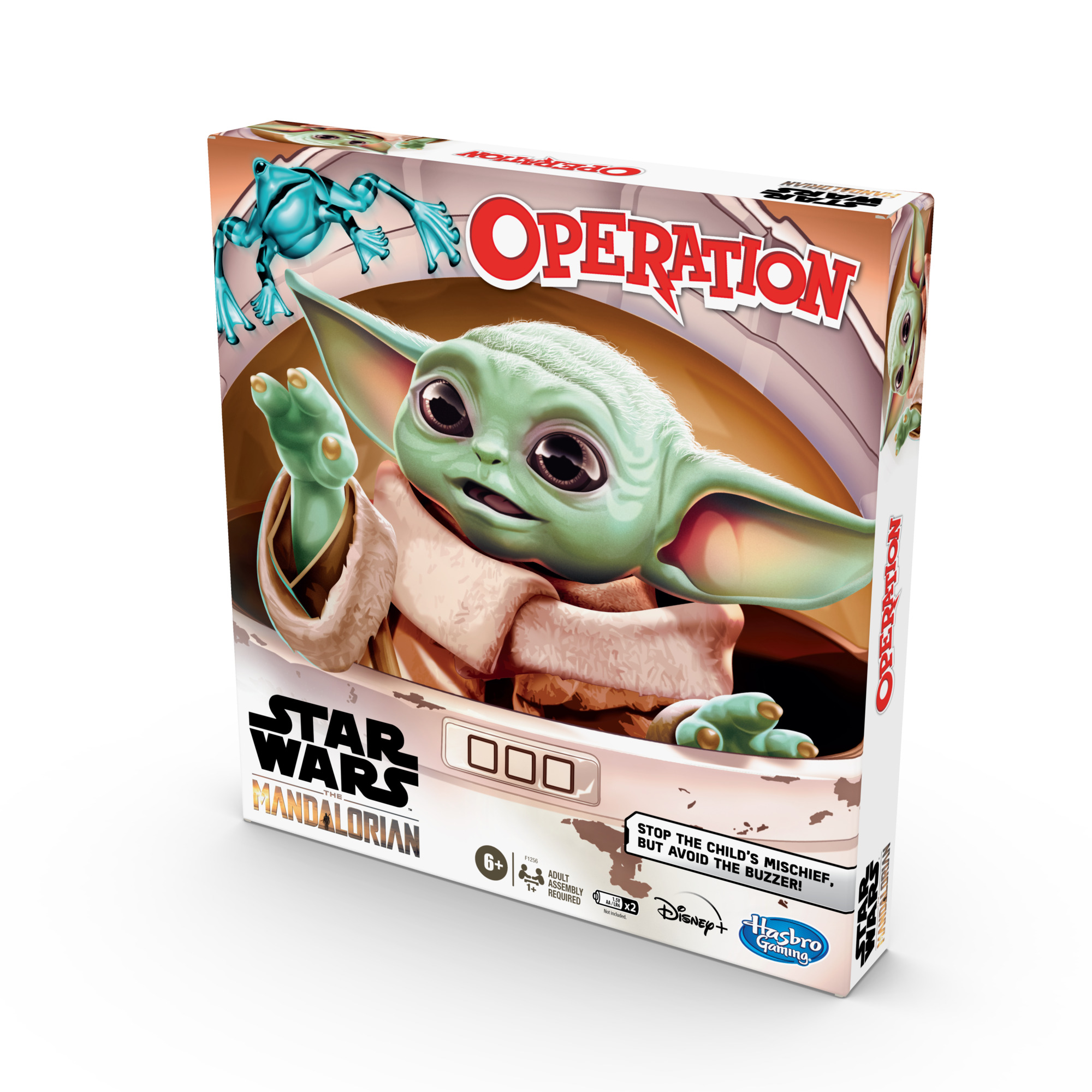 F12560000 Star Wars The Mandalorian Operation Game pkg2