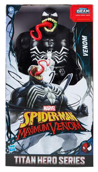 E8684 Max Venom Titan Hero Series Venom in pack