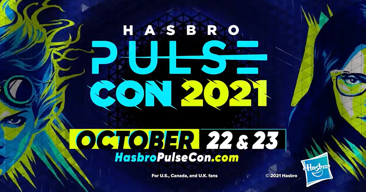 """""""Hasbro Pulse Con"""" Fan Event Returns with Star-Studded Roster October 22-23"""