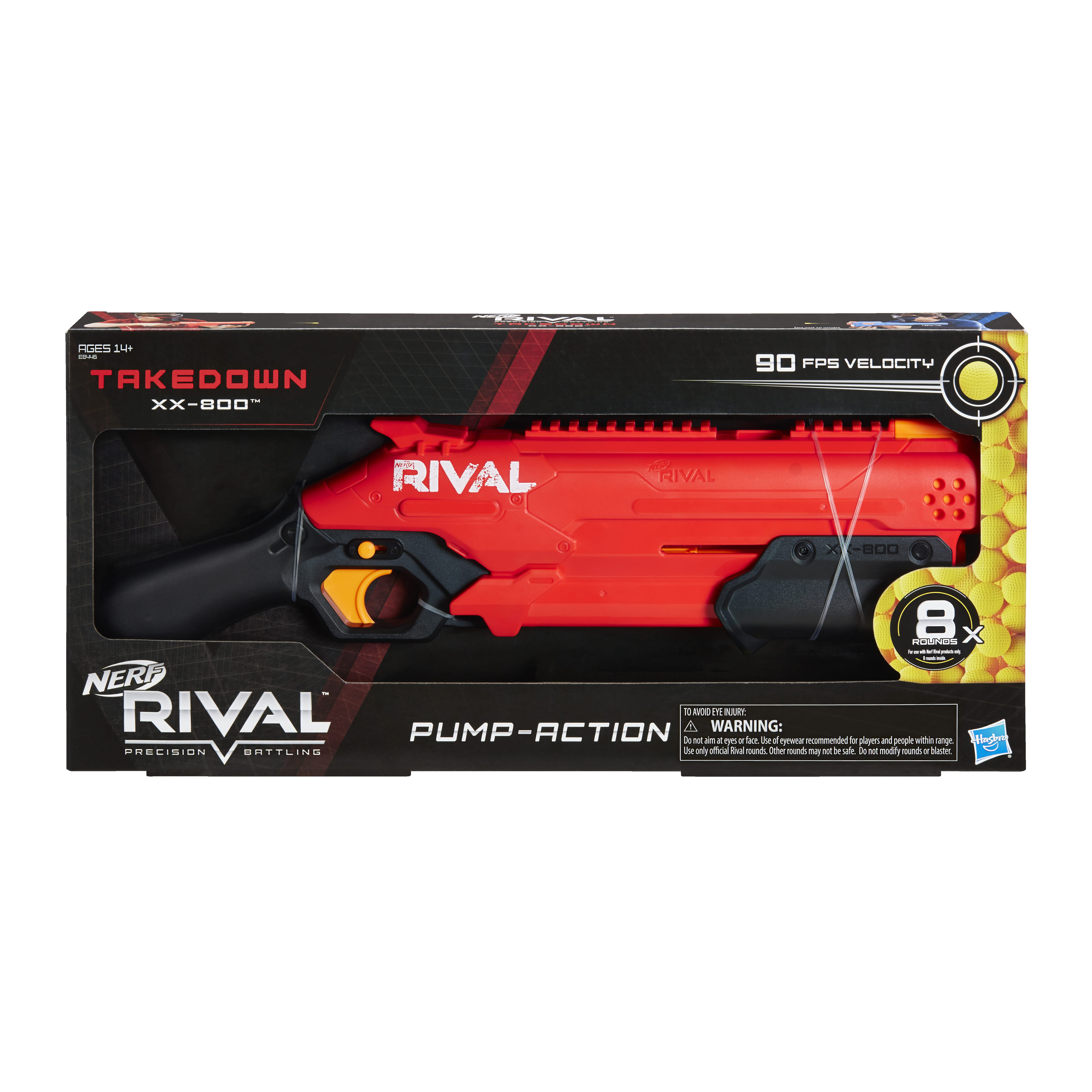 E8446 NERF RIVAL TAKEDOWN In Pack