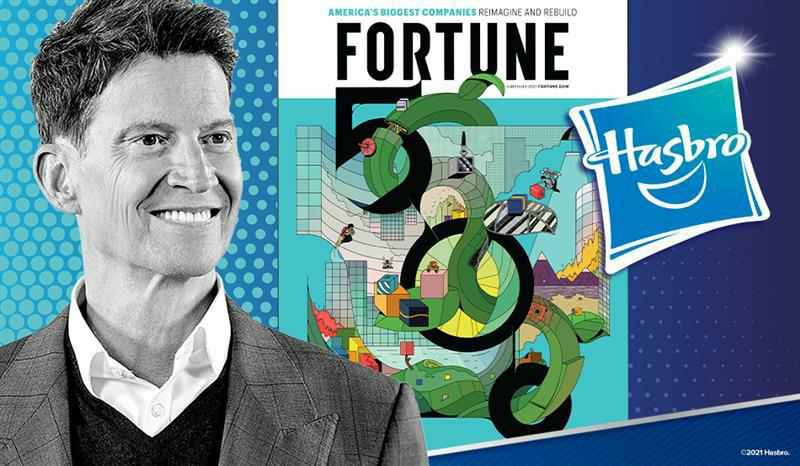 Hasbro Named to 2021 FORTUNE 500 List