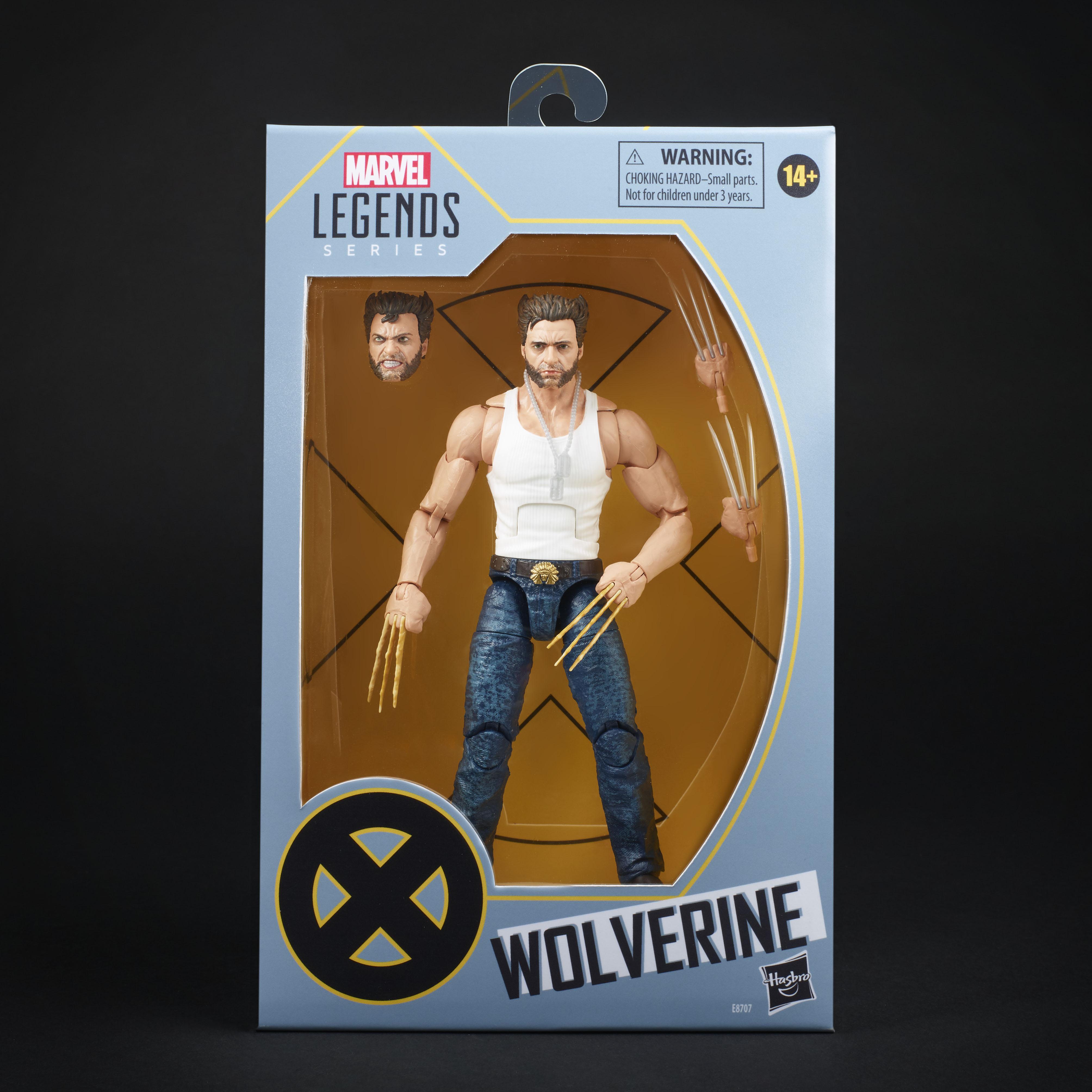 E8707 Marvel Legends XMen EXCL Logan Bone Claws in pack black