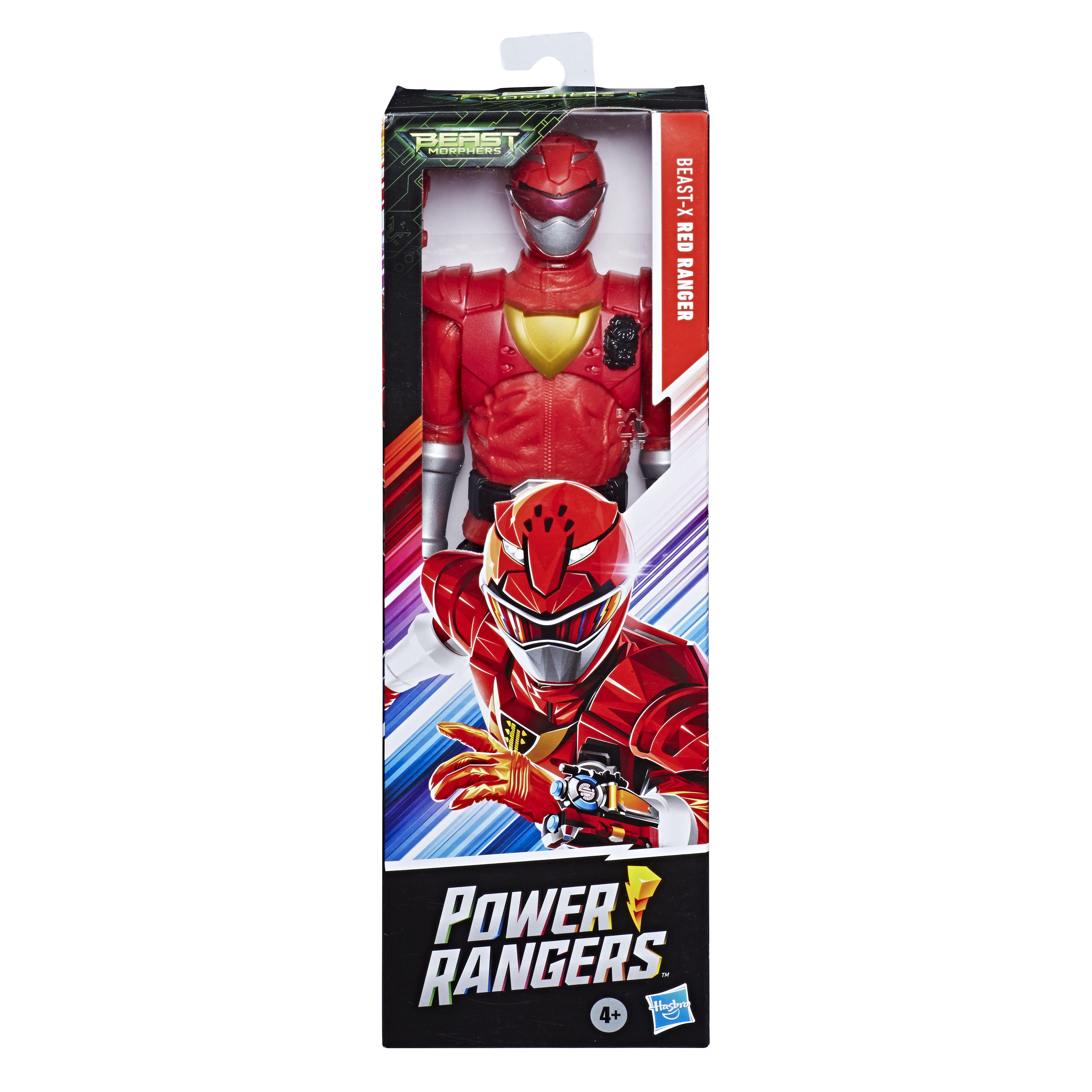 E7802 BMPR 12 Inch Action Figures Red Ranger_OOP