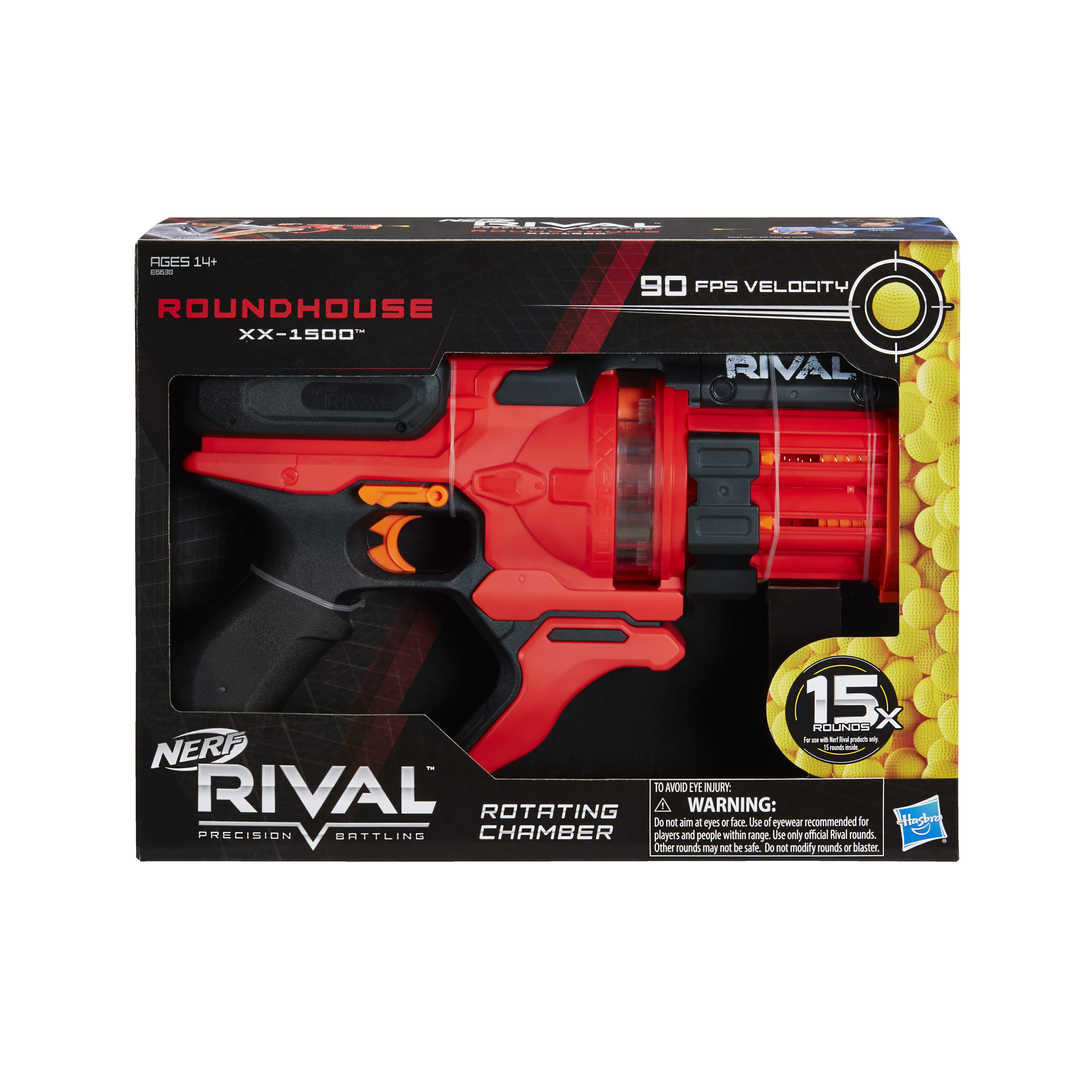 E6638 Nerf Rival Roundhouse In Pack