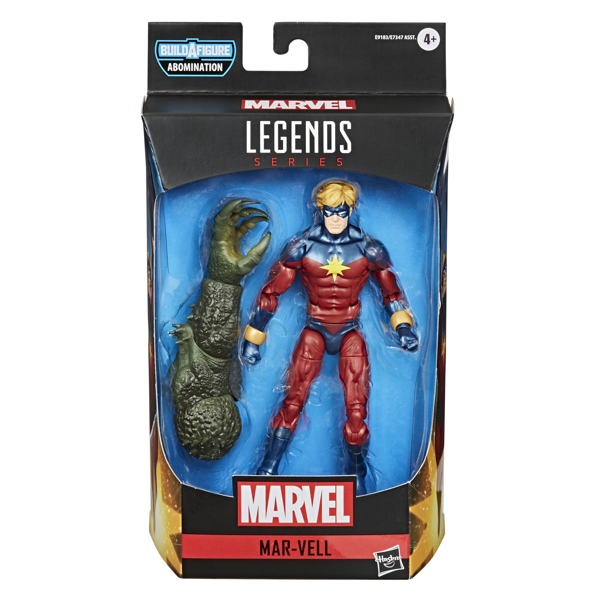 E91835L00 Marvel Avengers Gamerverse Mar Vell pkg