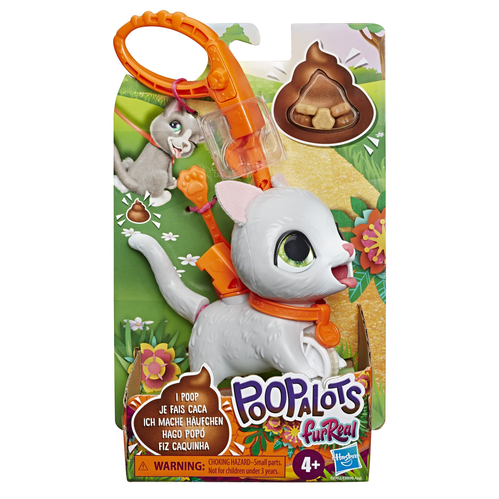 E8952 FURREAL Poopalots LilWag Cat In Pack