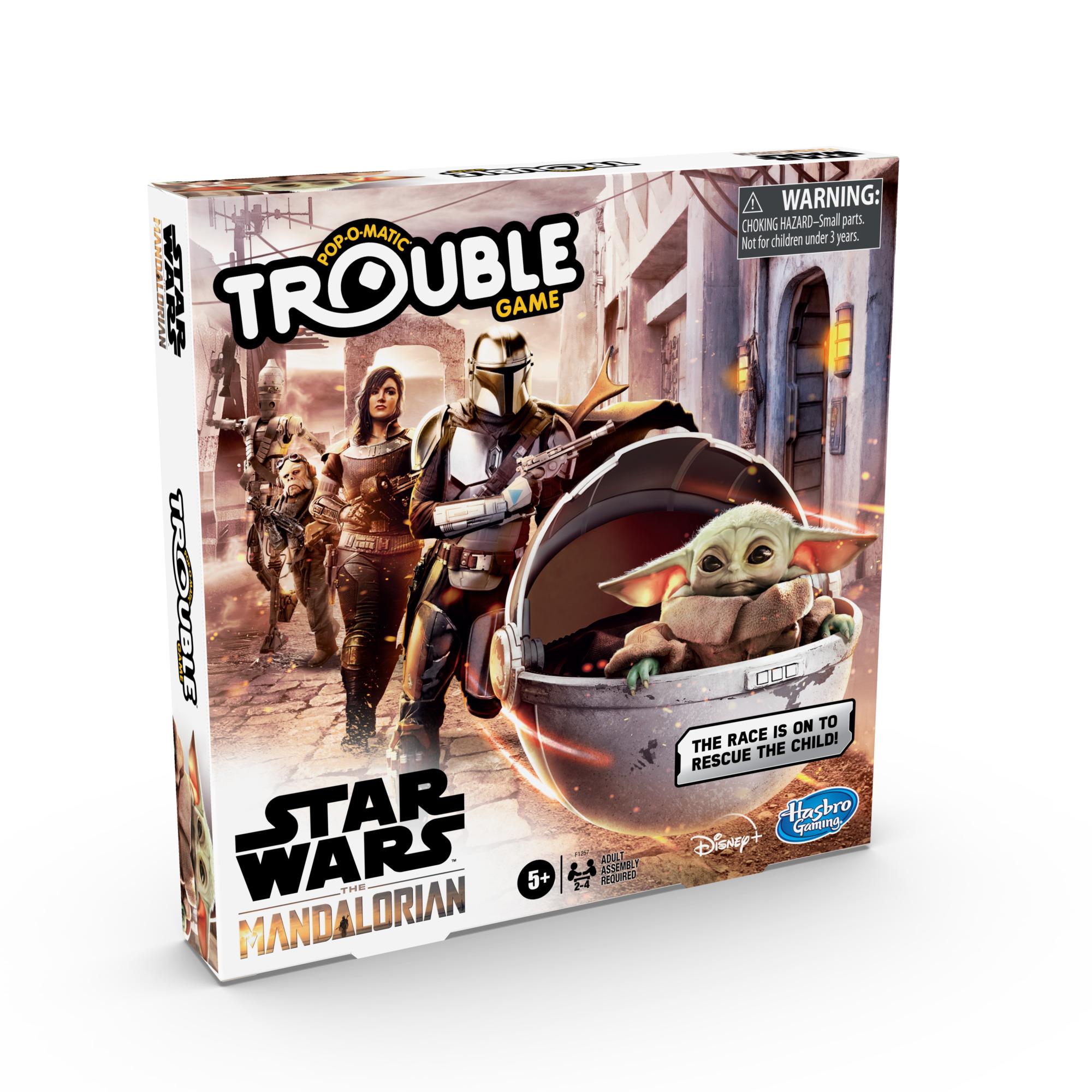 F12570000 Star Wars The Mandalorian Trouble Game 2 pkg