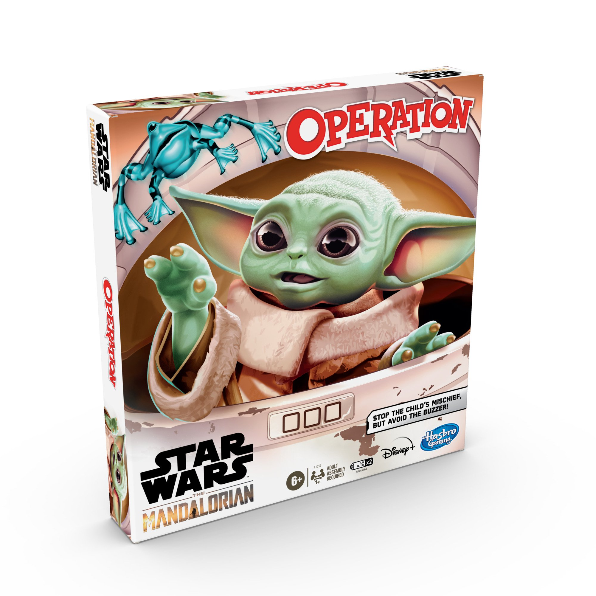 F12560000 Star Wars The Mandalorian Operation Game front of pack