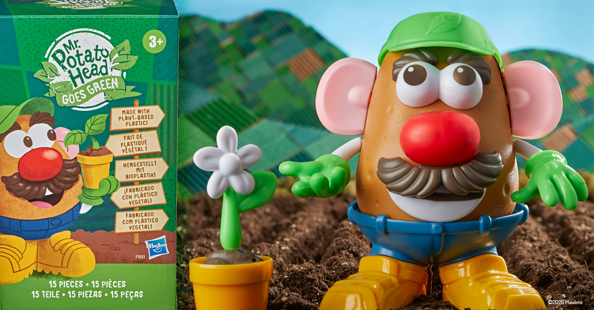 Hasbro Grows Sustainability with Mr. Potato Head Goes Green