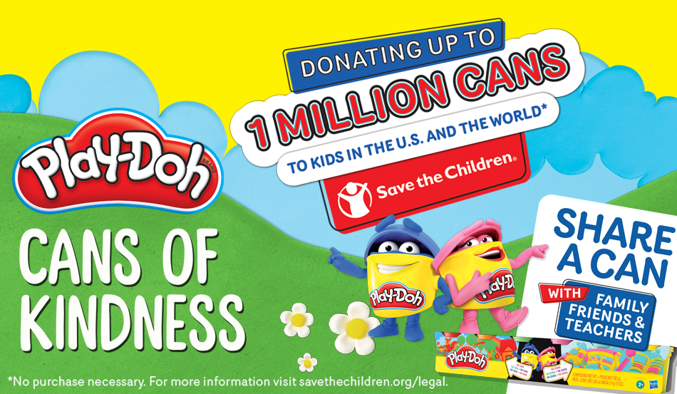Join Play-Doh Brand and Save the Children to Honor Teachers