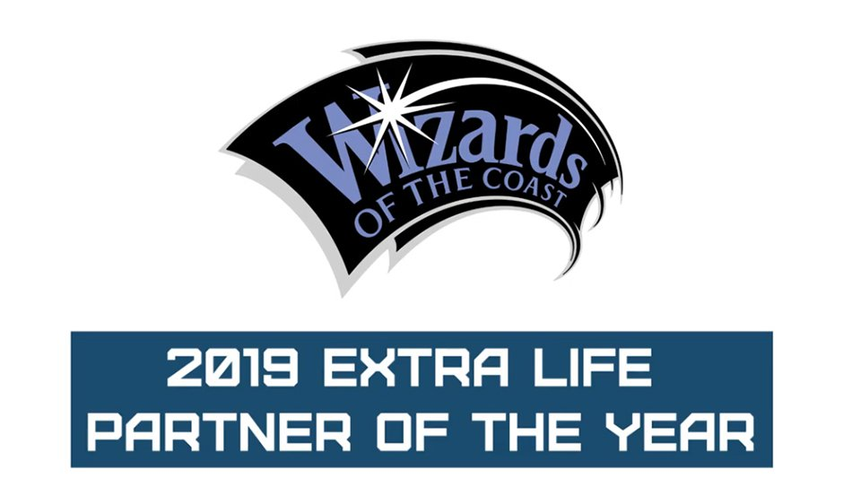 Wizards of the Coast Recognized as Extra Life Partner of the Year