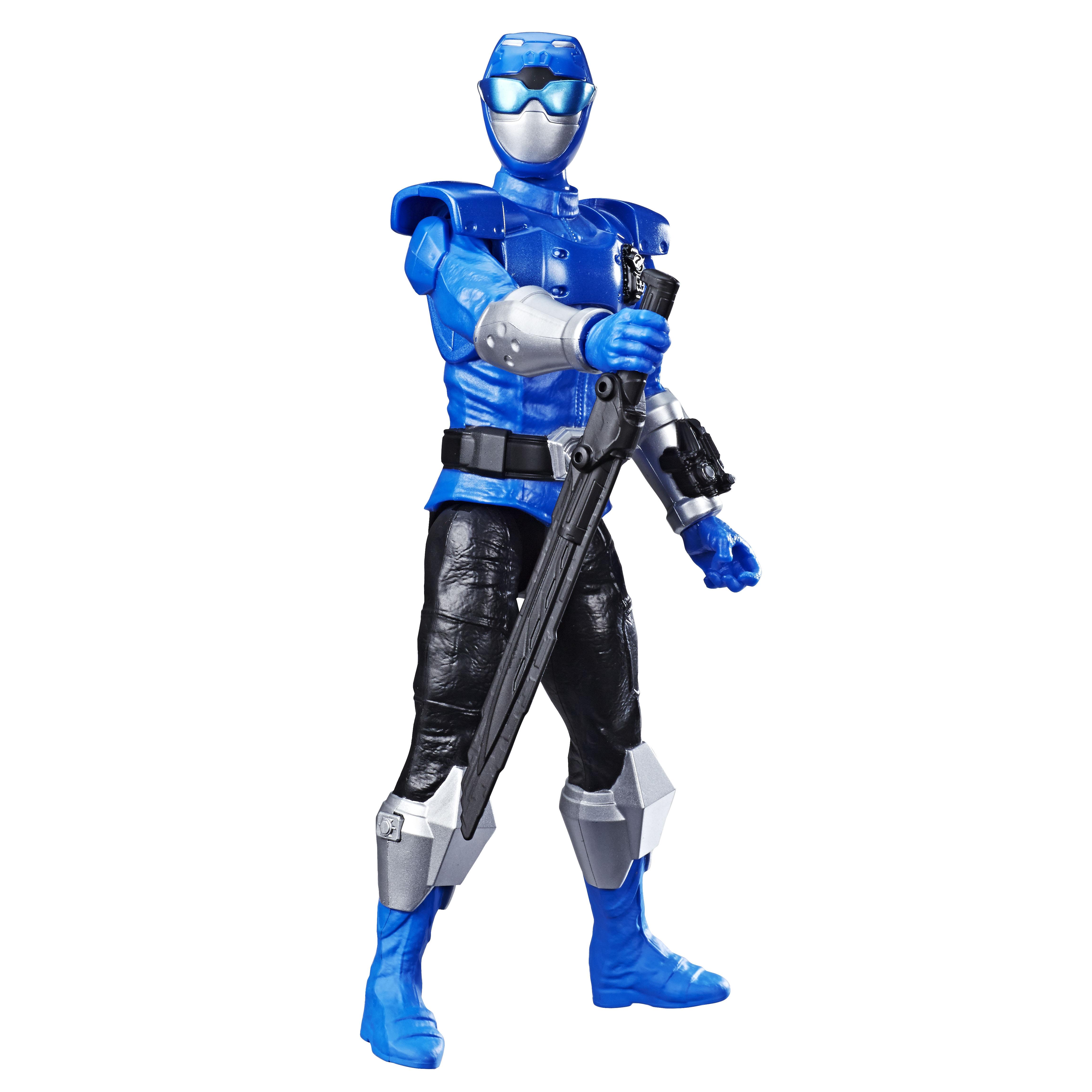 E7803 BMPR 12 Inch Action Figures Blue Ranger_OOP