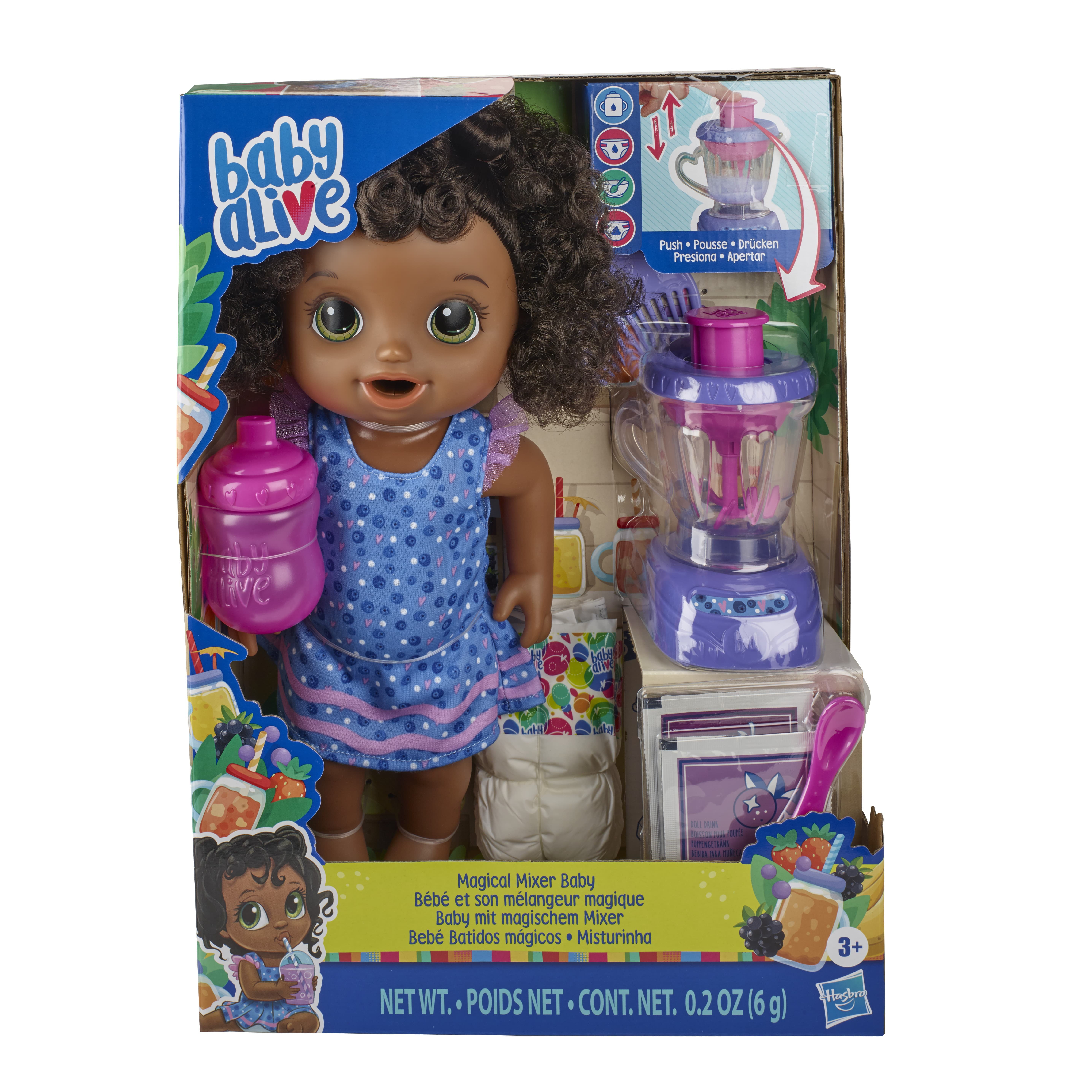 E6945 BABY ALIVE MAGICAL MIXER 3 In Pack