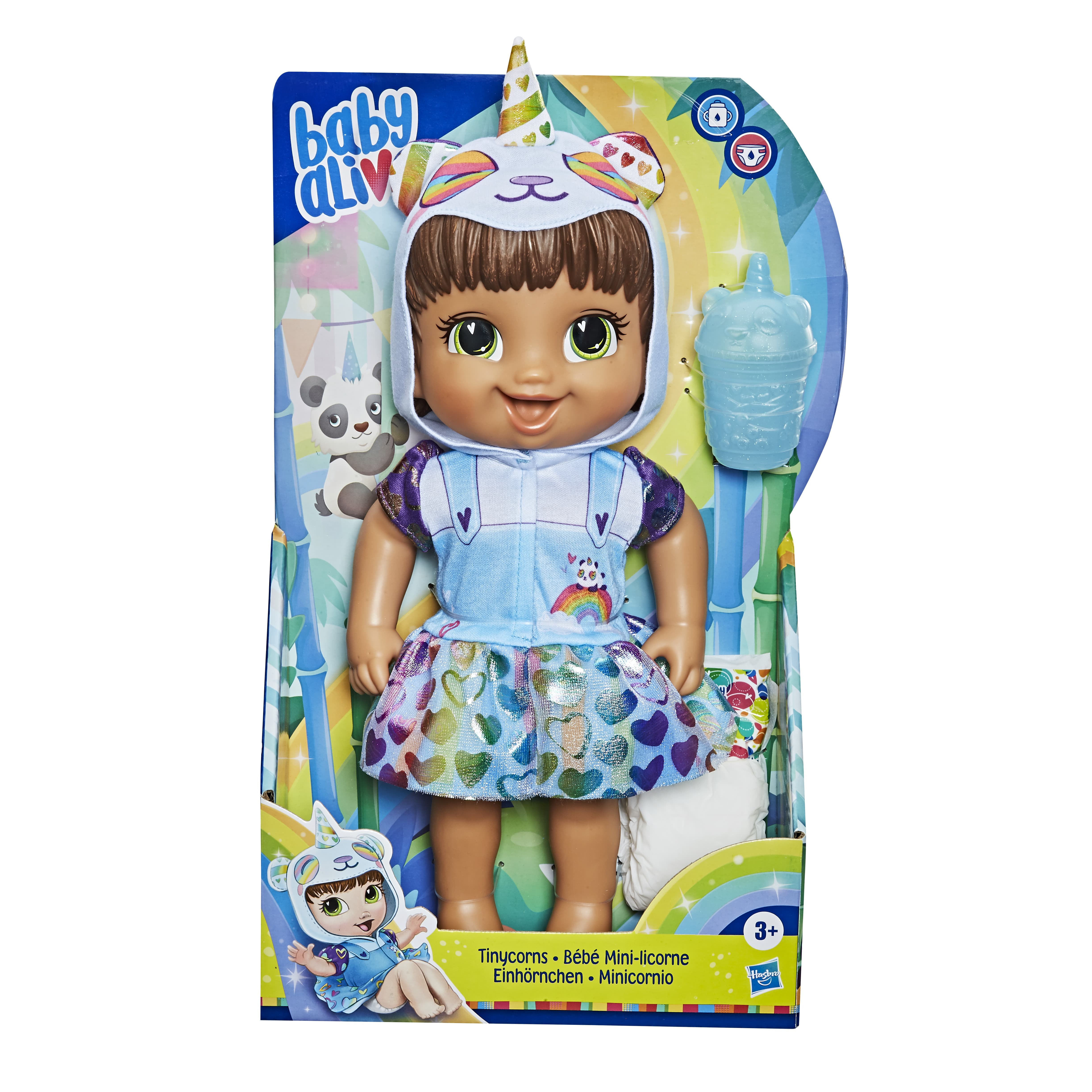 E9166 BABY ALIVE TINYCORN 3 In Pack