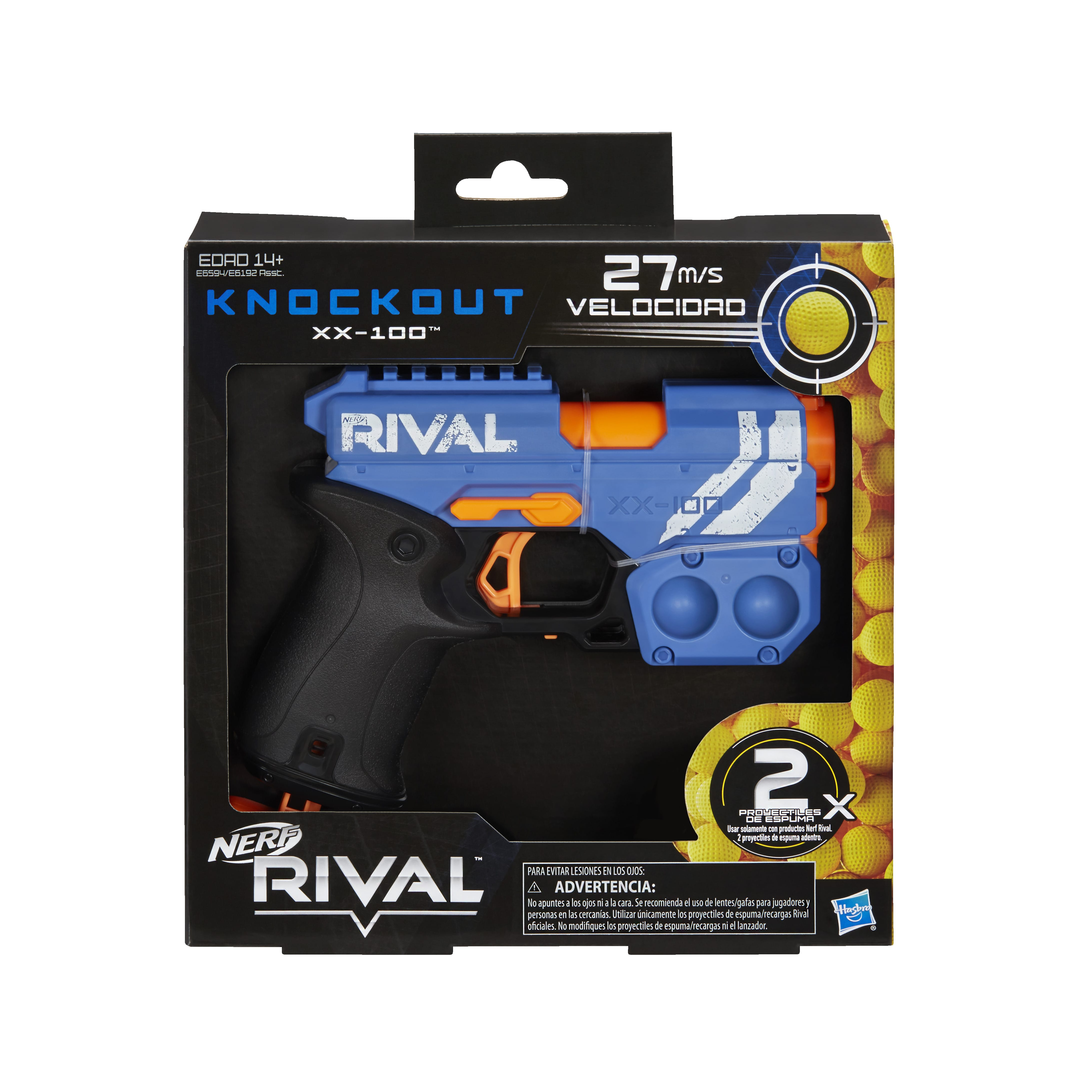 E6594 NERF RIVAL KNOCKOUT Blue In Pack