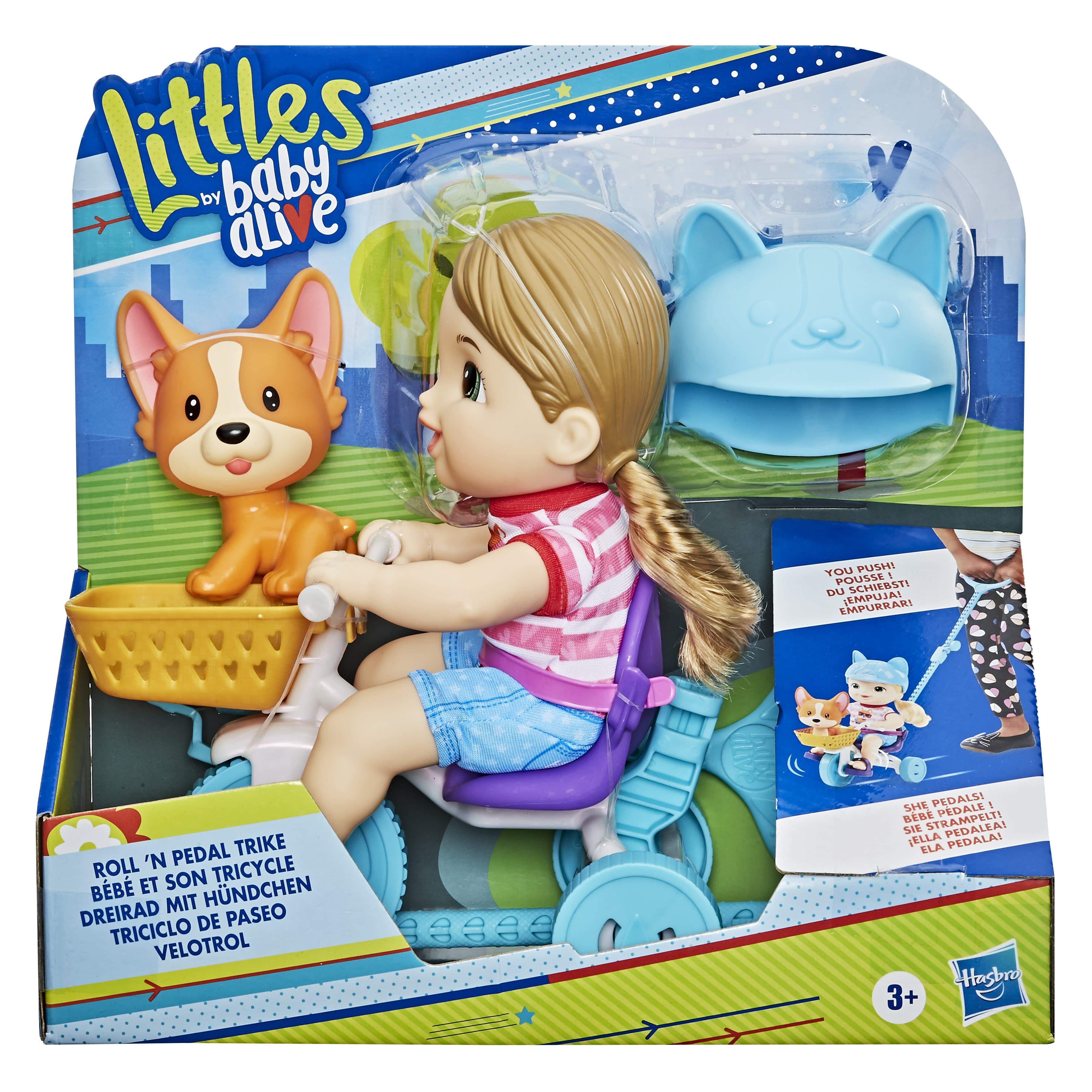 E7410 BABY ALIVE LITTLES TRIKE In Pack