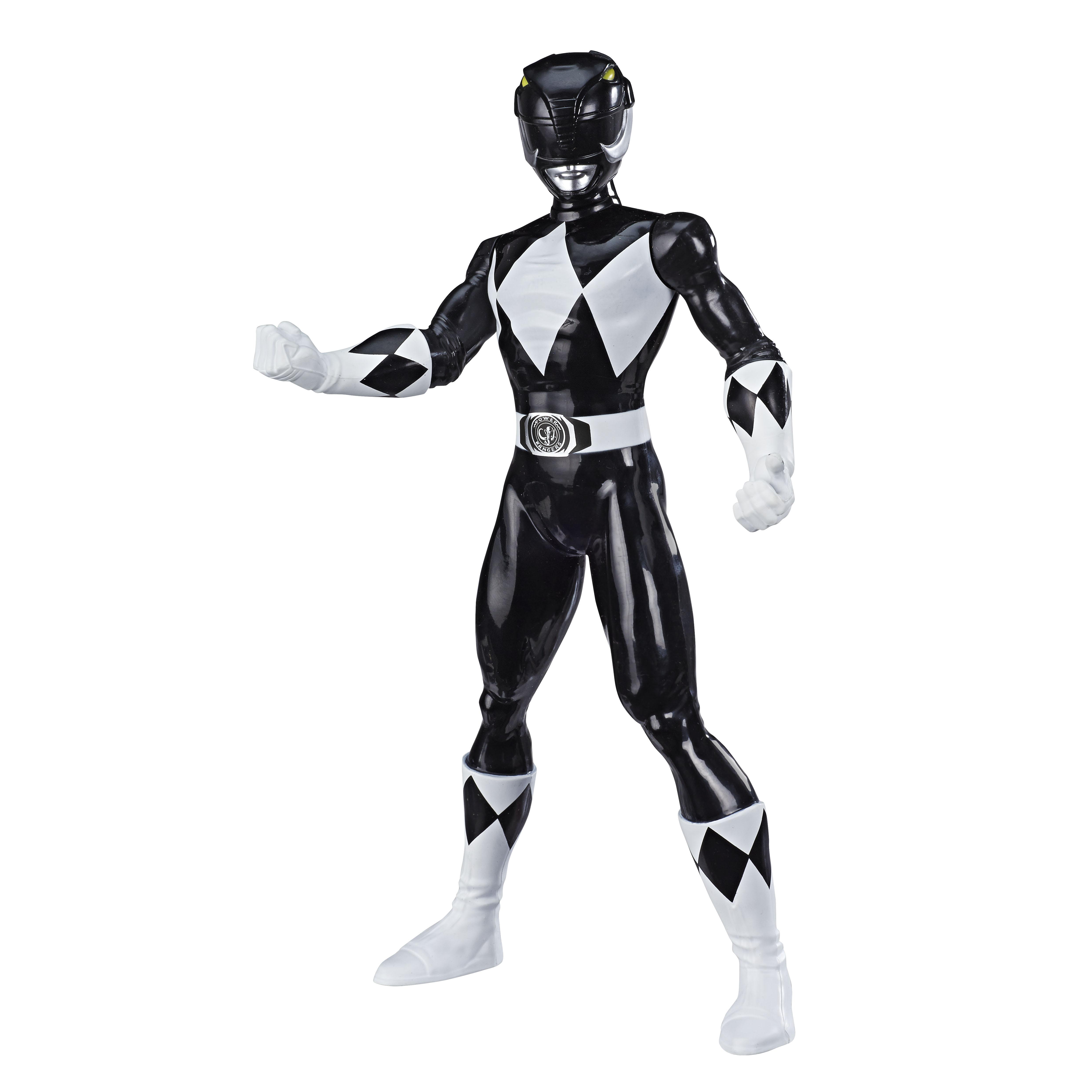 E7898 MMPR 9.5 Inch Basic Figures Black Ranger_OOP