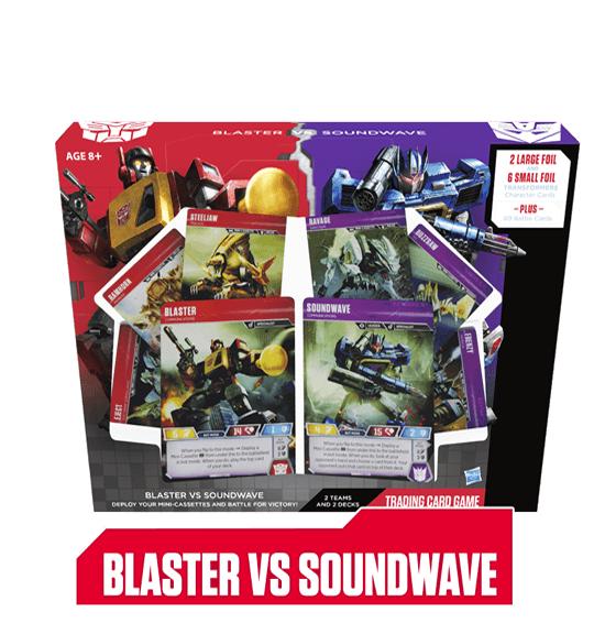 Blaster vs Soundwave Deck