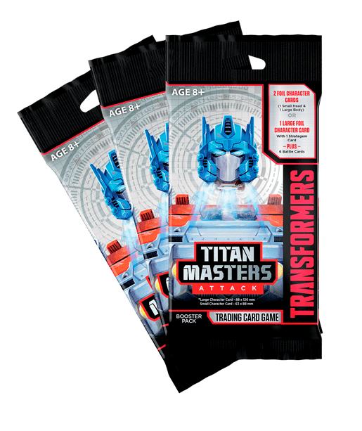 Titan Masters Attack Booster Pack fan