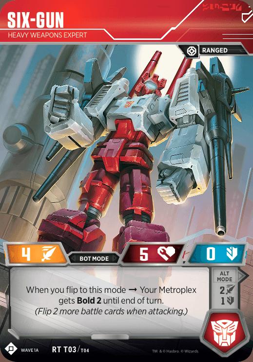 Metroplex Six-Gun
