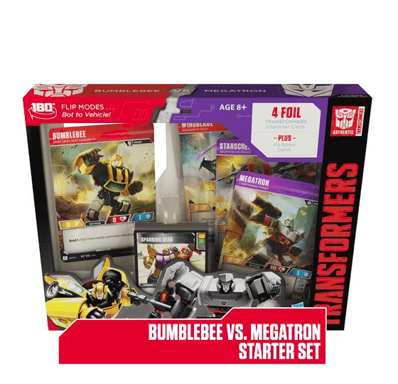 Bumblebee vs Megatron Starter Set