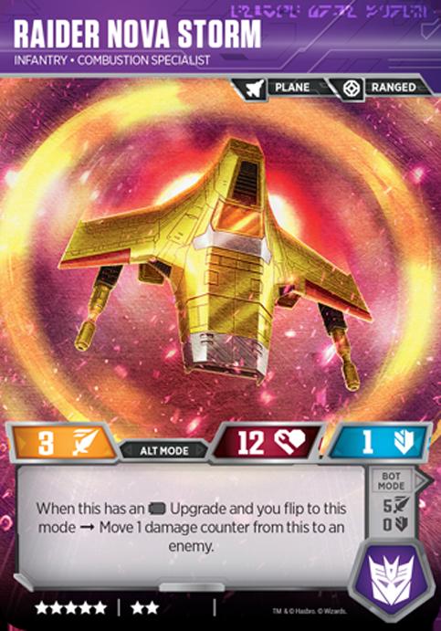 Raider Nova Strom Card