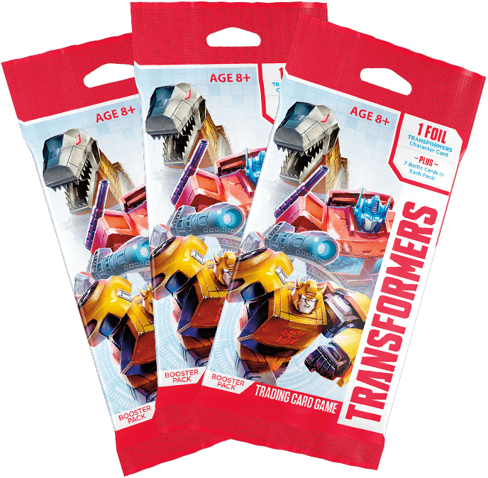 Battle Card & Character Card Wave 1 Booster Packs - Transformers TCG