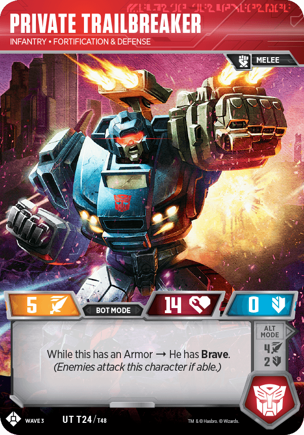 TCG Siege Private TrailBreaker