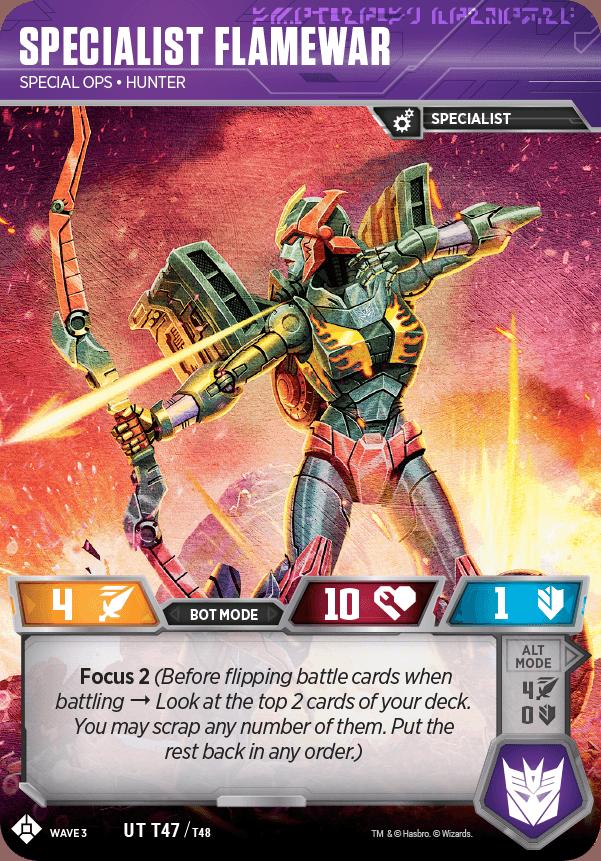 TCG Siege Specialist Flamewar