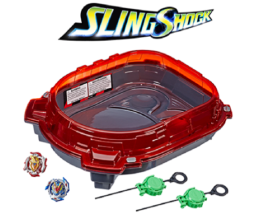 Slingshock Rail  Rush Battle Set