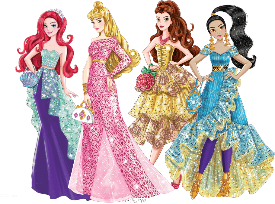 Figurines Disney Princesses