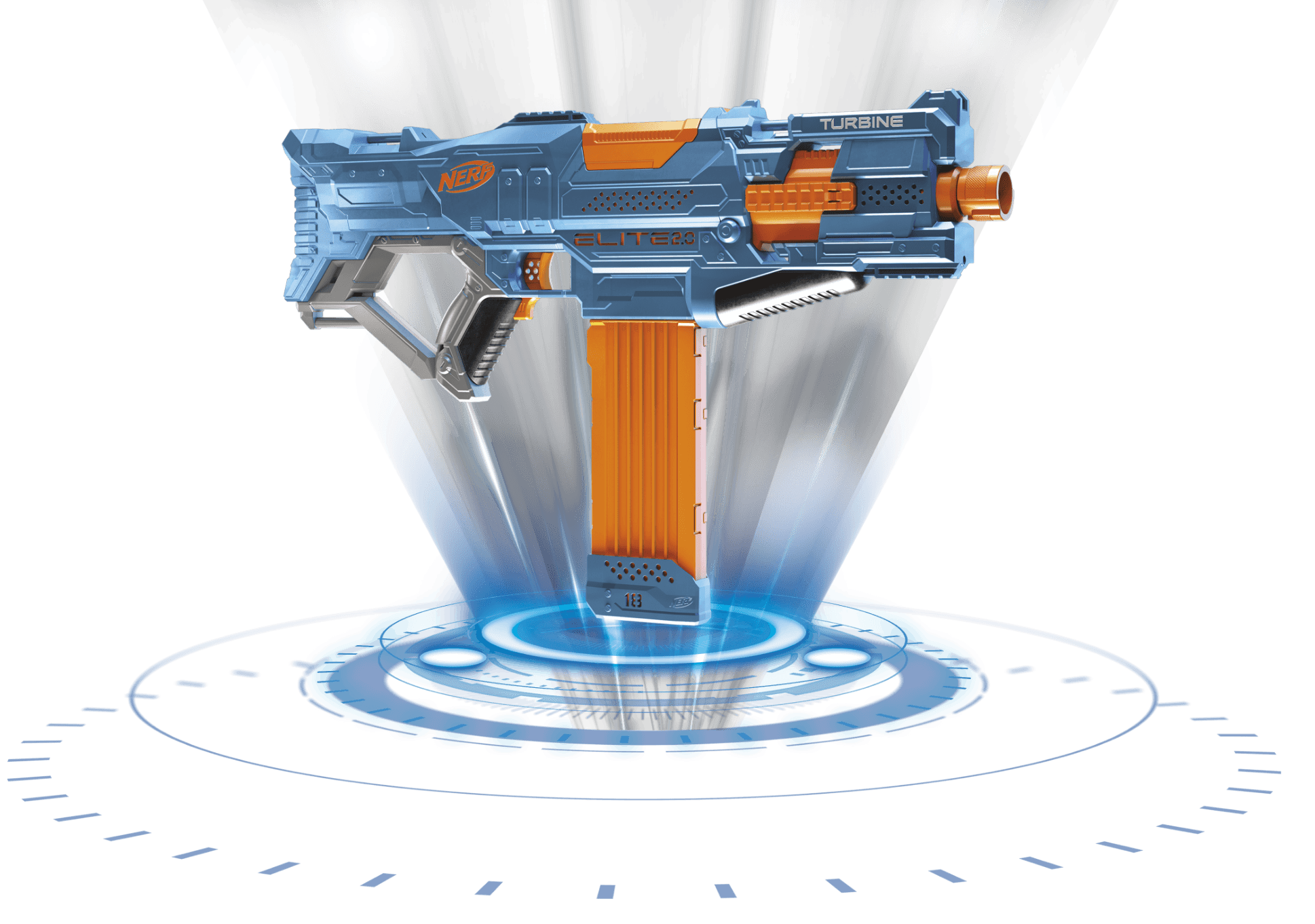 Nerf Elite 2.0 - TURBINE CS-18