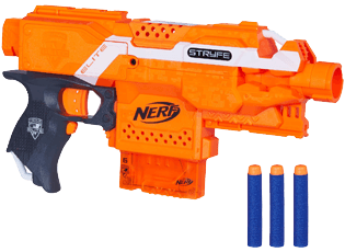 Click here to Download Nerf Stryfeblaster Instructions