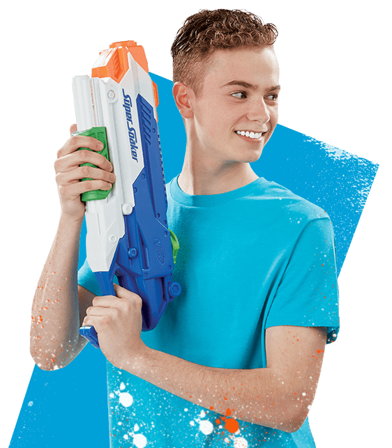 Nerf Super Soaker Character Content