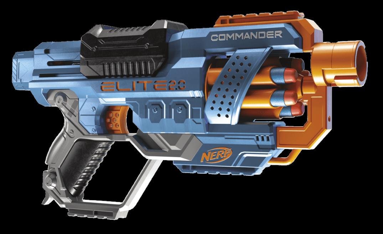 Nerf Elite 2.0 Commander Blaster