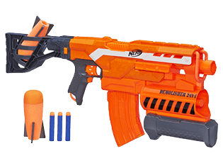 Click here to Download Nerf Demolisher Instructions