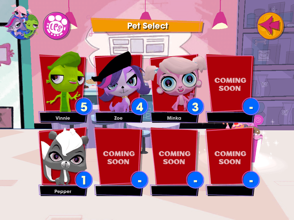Littlest Pet Shop Game Loft App Carousel Hero 3