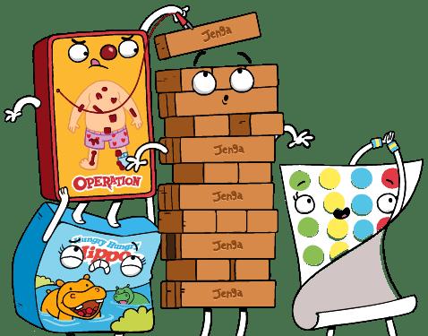 Classic Kids board games
