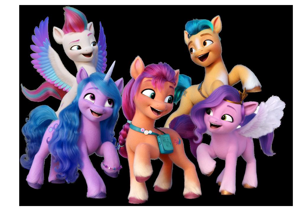My Little Pony Meet the friends