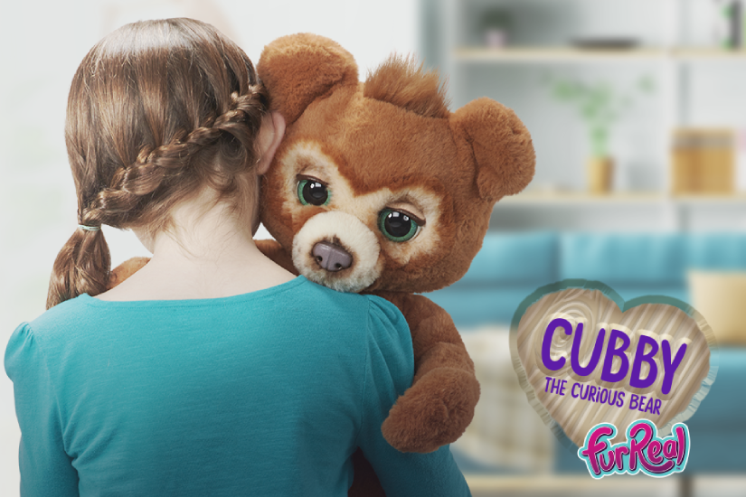 Meet Furreal's Cubby, The Curious Bear