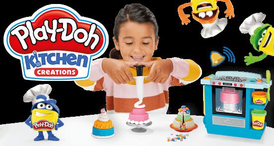 PLAY-DOH KITCHEN CREATIONS BACKSTUBE