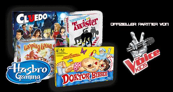 Finde hier deine Lieblingsspiele von Hasbo!