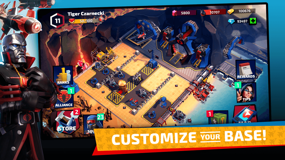 G.I. JOE Games Screenshot