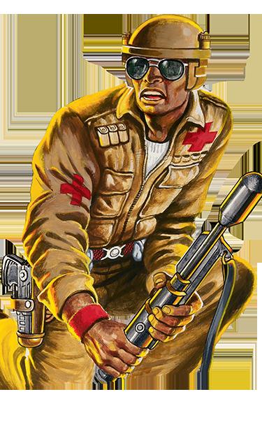 Doc GI JOE action figure