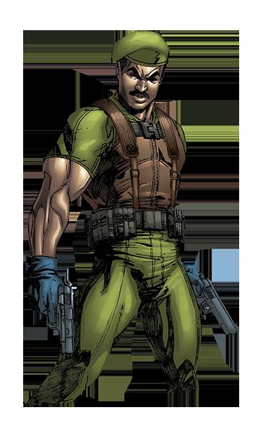 Stalker GI JOE action figure