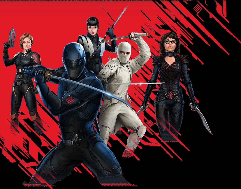 Snake Eyes: G.I. Joe Origins Characters